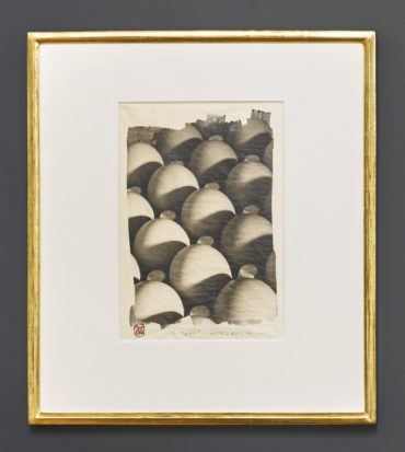 Attributed to Michael Silver - Eggs-1992