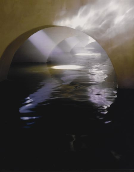 James Casebere-Four Flooded Arches From Right With Fog-1999