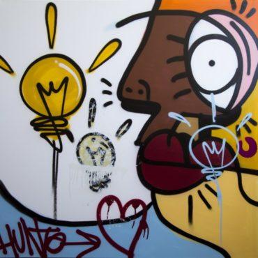The idea of love Canvas