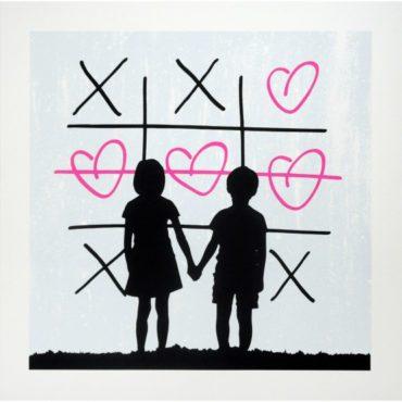 XO (Pink) Print