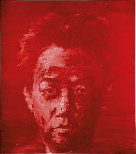 Yan Pei-Ming-Autoportrait Rouge-2007