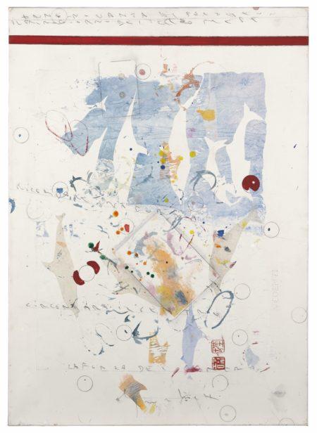 Alighiero Boetti-Senza Titolo (Mimetico Delfini)-1990