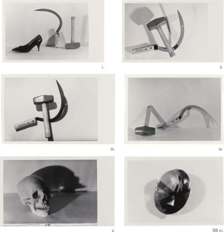 Andy Warhol-I-IV. Hammer And Sickle V. Skull VI. Gem-1978