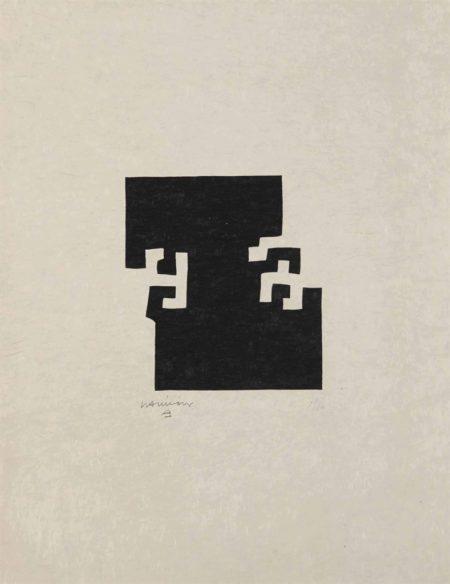 Eduardo Chillida-L'émerveillé merveilleux-1973