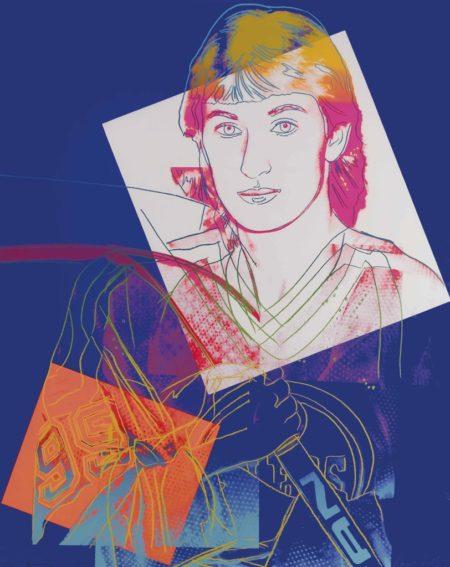 Andy Warhol-Wayne Gretzky #99-1984