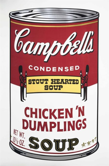 Andy Warhol-Chicken 'N Dumplings from: Campbell's Soup II-1969