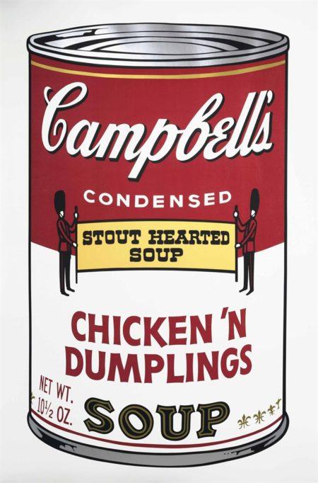Chicken 'N Dumplings from: Campbell's Soup II-1969