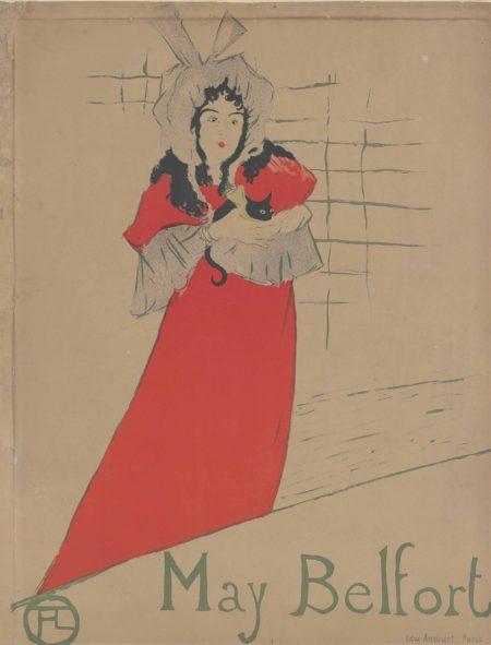 Henri de Toulouse-Lautrec-May Belfort-1895
