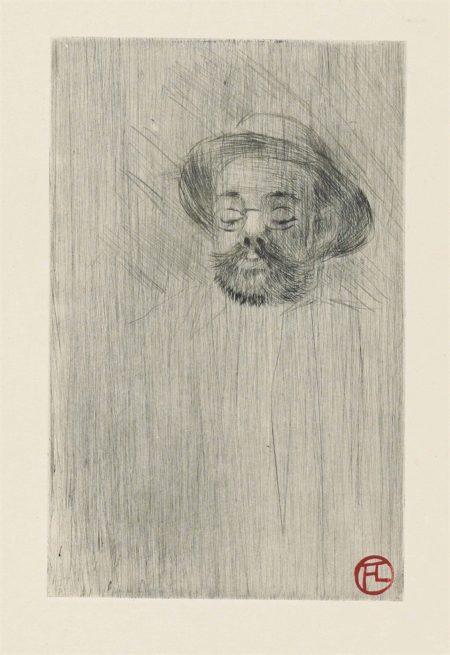 Henri de Toulouse-Lautrec-Sept pointes sèches-1898
