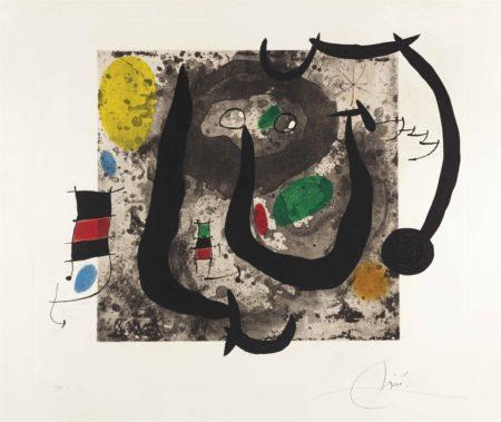 Joan Miro-Les armes du sommeil-1970