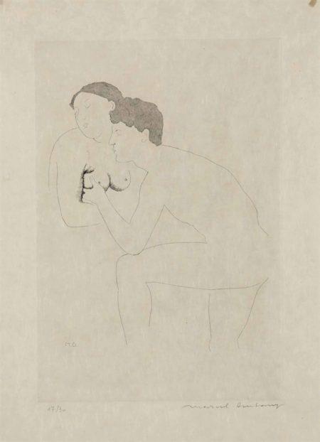 Marcel Duchamp-Morceaux choisis d'après Ingres II-1968