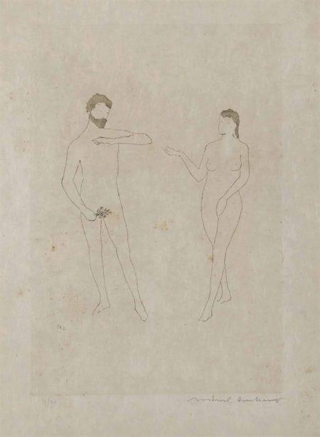 Marcel Duchamp-Morceaux choisis d'après Cranach et 'Relâche'-1967