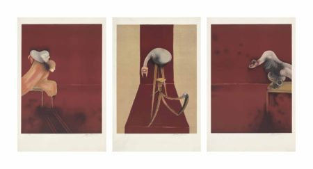 Francis Bacon-Second Version Triptych 1944 (Large Version)-1989