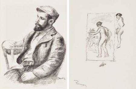 Pierre-Auguste Renoir-Douze Lithographies Originales (Delteil Stella37-48)-1904