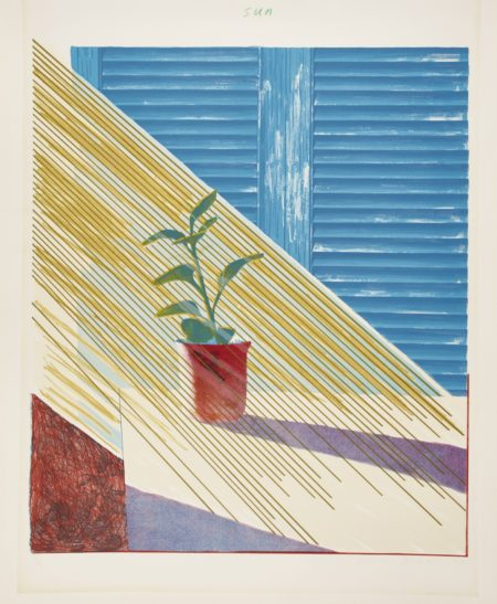 David Hockney-Sun (S. A. C. 136; Mca Tokyo 127)-1973
