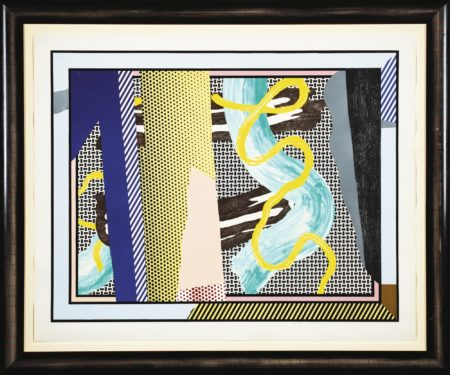Roy Lichtenstein-Reflections On Brushstrokes (C. 242)-1990