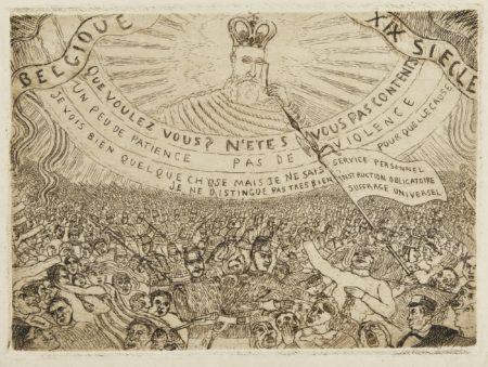 James Ensor-La Belgique Au Xixe SiÈCle(D. 90; T. E. 81)-1889