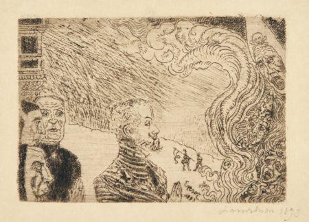 James Ensor-Auto-Da-FÉ (D. 85; T.E.87); And Les Adieux De NapolÉOn (D. T. 111; E. 114)-1897