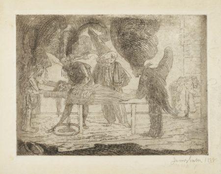 James Ensor-L'Assassinat (D. T. E.38)-1888