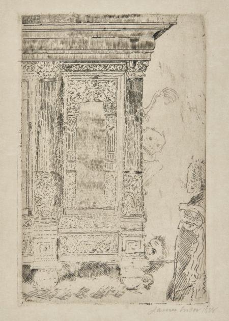 James Ensor-Le Meuble HantÉ; And La Crypte (D. T. E.22 26)-1888