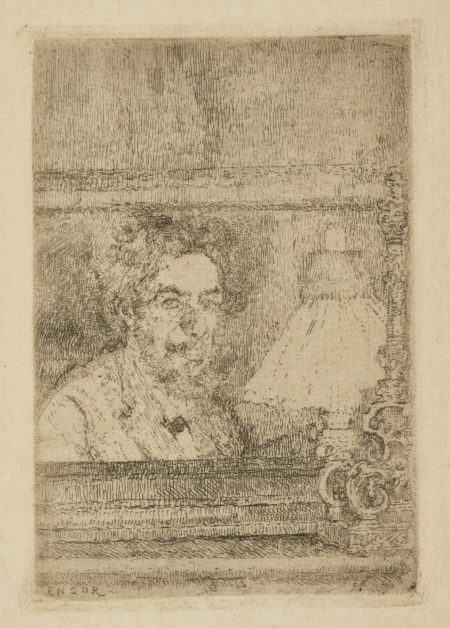 James Ensor-L'Artiste Par Lui-MÊ Me (D. T. E. 4)-1886