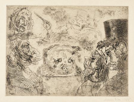 James Ensor-Musiciens Fantastiques (D. T. E. 43)-1888