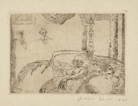James Ensor-La Luxure (D. T. E.  59)-1888