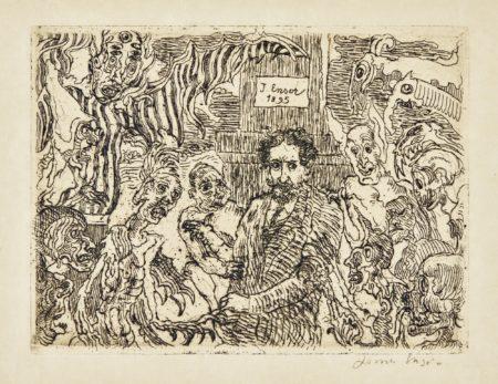 James Ensor-DÉMons Me Turlupinant ( D. 91; T. E. 92)-1895
