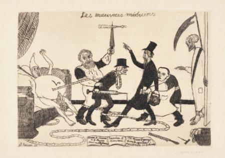 James Ensor-Les Mauvais MÉDecins (D. T. 97; E. 99)-1895