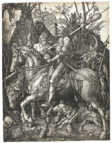 Knight Death And The Devil (B. 98; M. Holl. 74)
