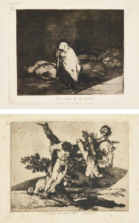 Francisco Jose de Goya y Lucientes-Los Desastres De La Guerra (H. 121-200)-1820