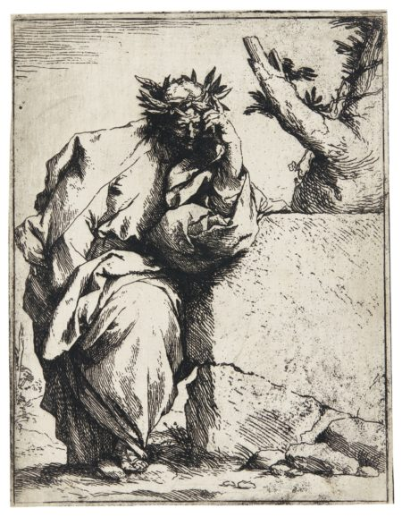 Jusepe de Ribera-The Poet (Bartsch 10; Brown 3)-1621