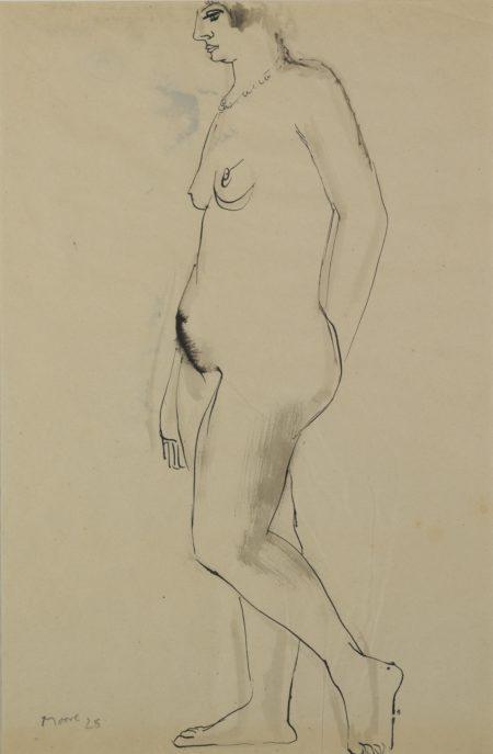 Henry Moore-StandingWoman-1928