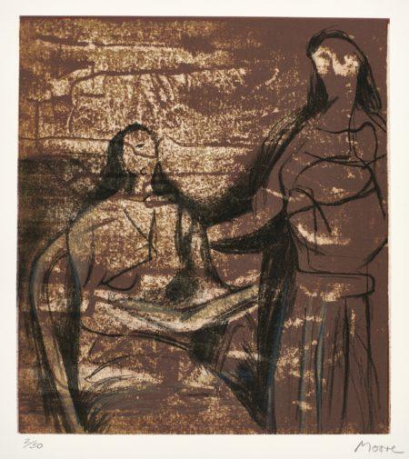 Henry Moore-Visitation (C. 629)-1981