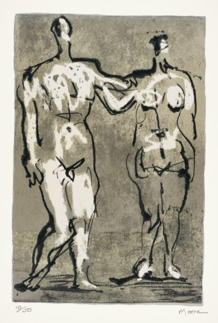 Henry Moore-Seven Ages Of Man (C. 658-665 And667)-1982