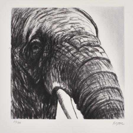 Henry Moore-Elephant'S Head Ii (C. 607)-1981