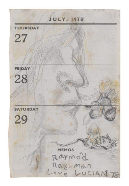 Lucian Freud-Rat Man (Portrait Of Raymond)-