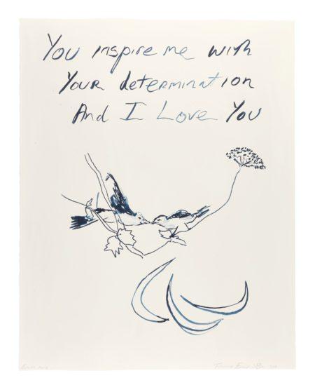 Tracey Emin-Birds 2012-2011