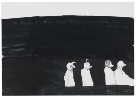 Michael Andrews-Sketches Relating To 'A Design: The Garden At Drummond From Higher Ground'-1976