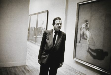 Neil Libbert-Francis Bacon At His Tate Show London May 1985-