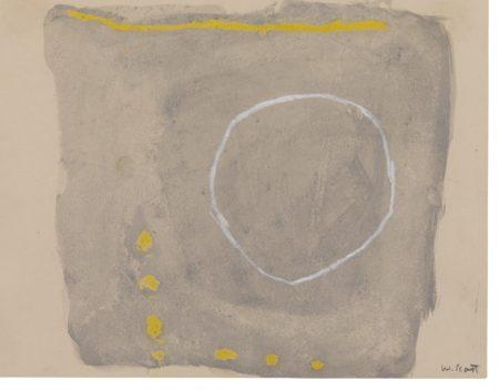 William Scott-Gouache No.6-1961