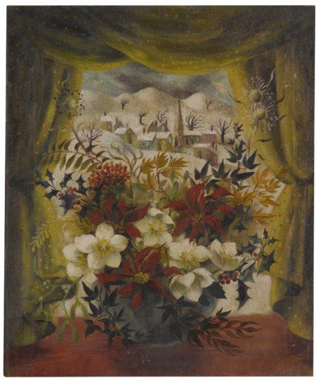 Mary Fedden-Christmas Evening-1949