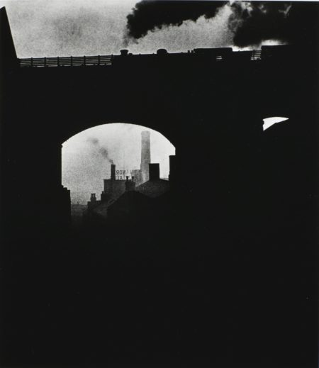 Bill Brandt-Train Leaving Newcastle 1937-