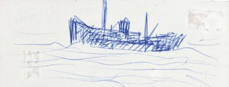 Laurence Stephen Lowry-Boat-
