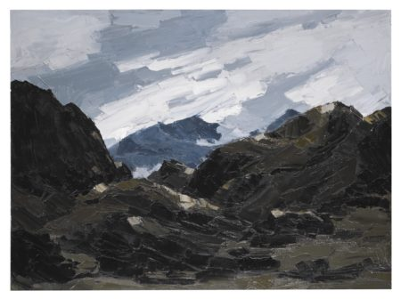Kyffin Williams-Mount Snowdon From Nantlle-