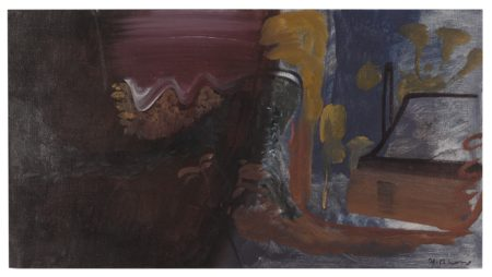 Ivon Hitchens-The Game Keeper's Cottage No.3-1943