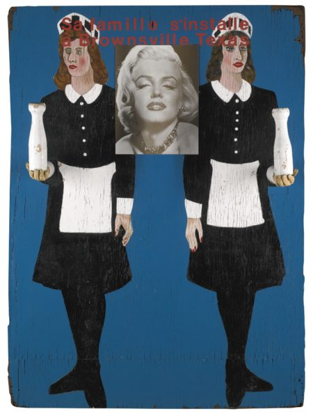 Peter Blake-Marilyn Monroe Over A Painting Over A Painting No.1-1990