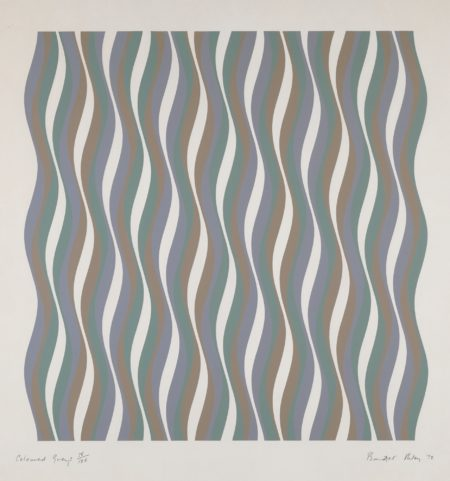 Bridget Riley-Coloured Greys [1] (S. 16)-1972