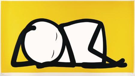 Stik-Sleeping Baby (Yellow)-2015