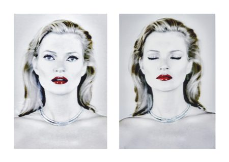 Chris Levine-Kate Moss (She'S Light) 2014-